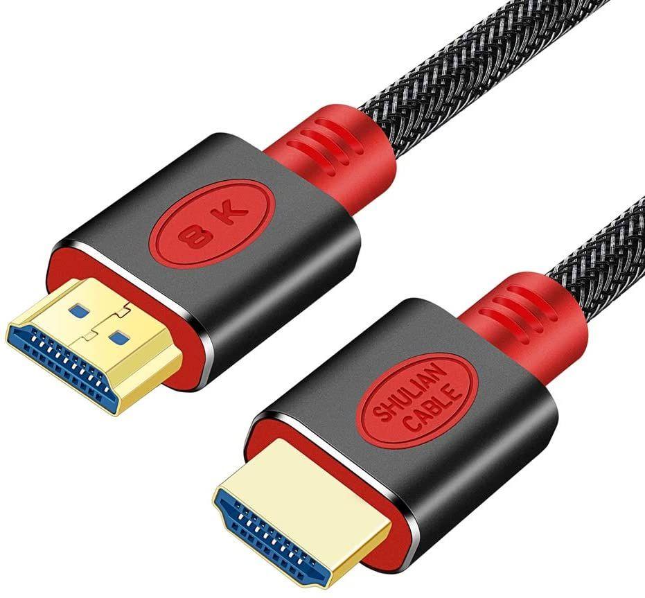 Câble HDMI 2.1 ShulianCable - 8K/60 Hz, 1M (Vendeur tiers)