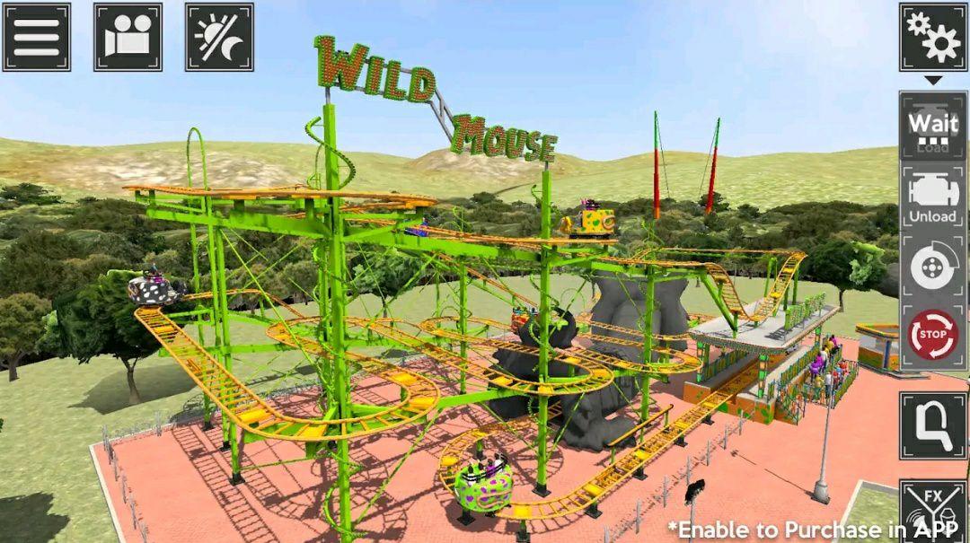 Theme Park Simulator gratuit sur Android