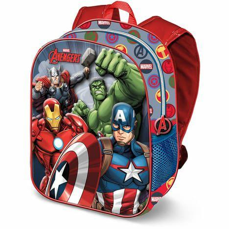 Sac à dos enfant Avengers bicolore