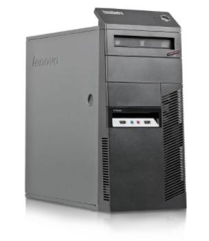Tour PC Lenovo ThinkCentre M92P MT - Core i5 3,4 GHz, RAM 8 Go, SSD 256 Go + HDD 500 Go (Reconditionné - Bon état)