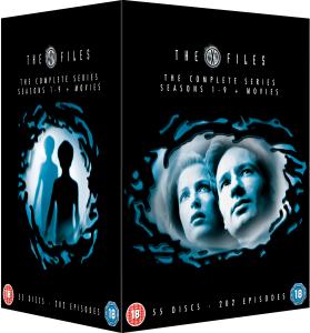 X-Files - L'intégrale des 9 saisons + les 2 longs-métrages en DVD (voir description pour les langues)