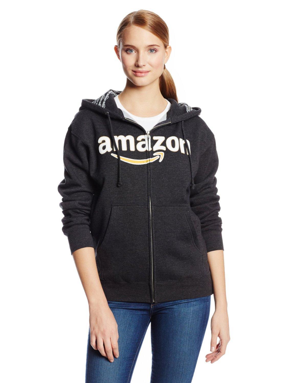 Sweat à Capuche Amazon Gear Unisex - Noir ou Gris (Tailles S/M)
