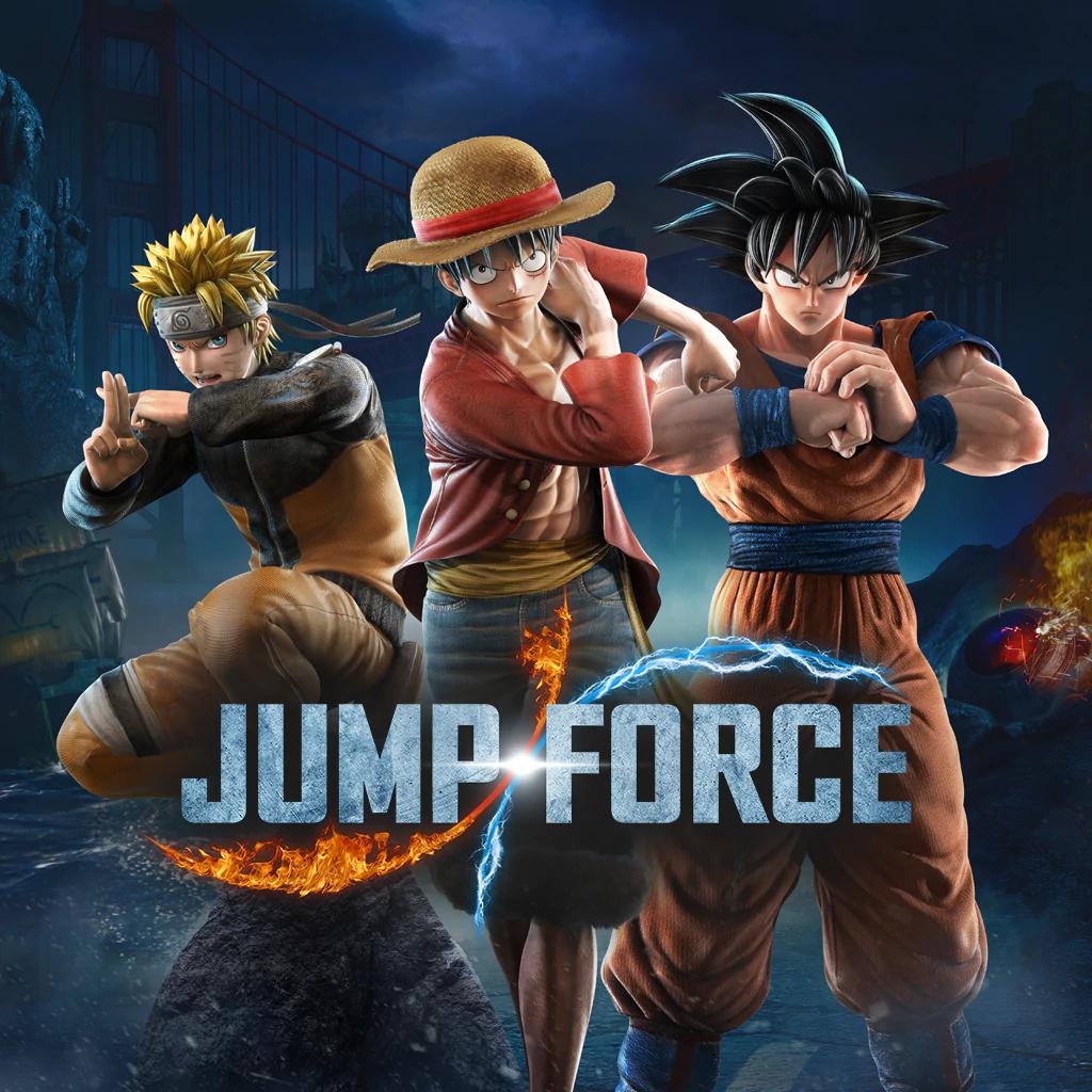 Jump force sur PS4 (Dématérialisé)