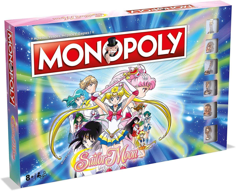 Jeu de société en promotion - Ex: Monopoly Sailor Moon (parkage.com)