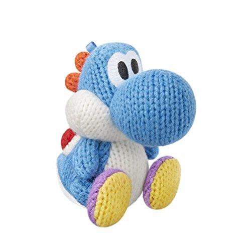 Amiibo Yoshi's Woolly World - Yoshi de laine : bleu ciel