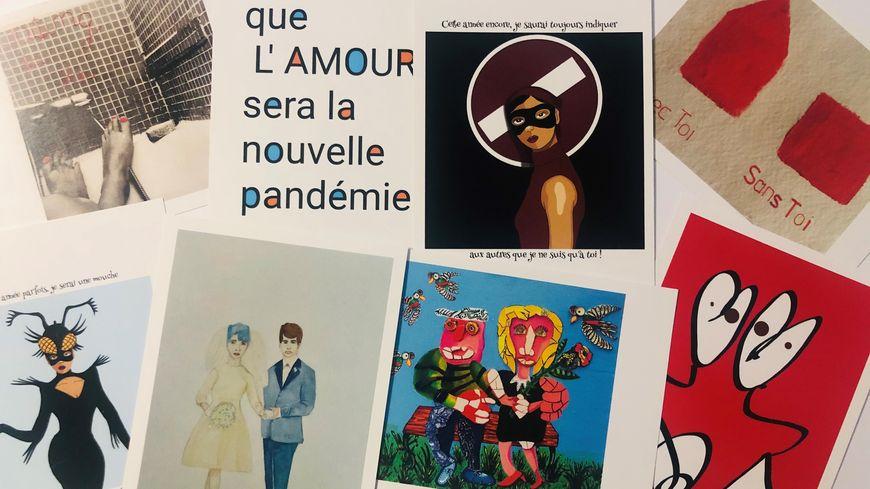 Cartes postales gratuite pour la Saint-Valentin - Sète (34)