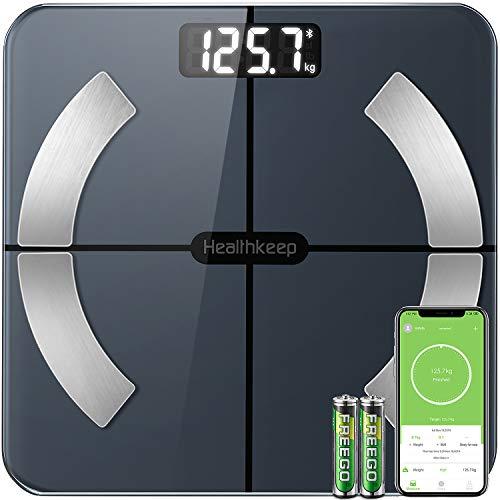 Pèse personne connecté HealthKeep - 13 données (Vendeur Tiers)