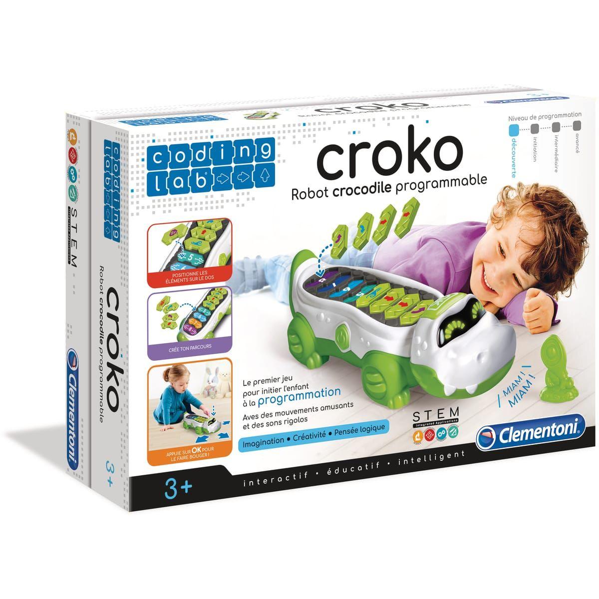 Robot crocodile programmable Clementoni Croko