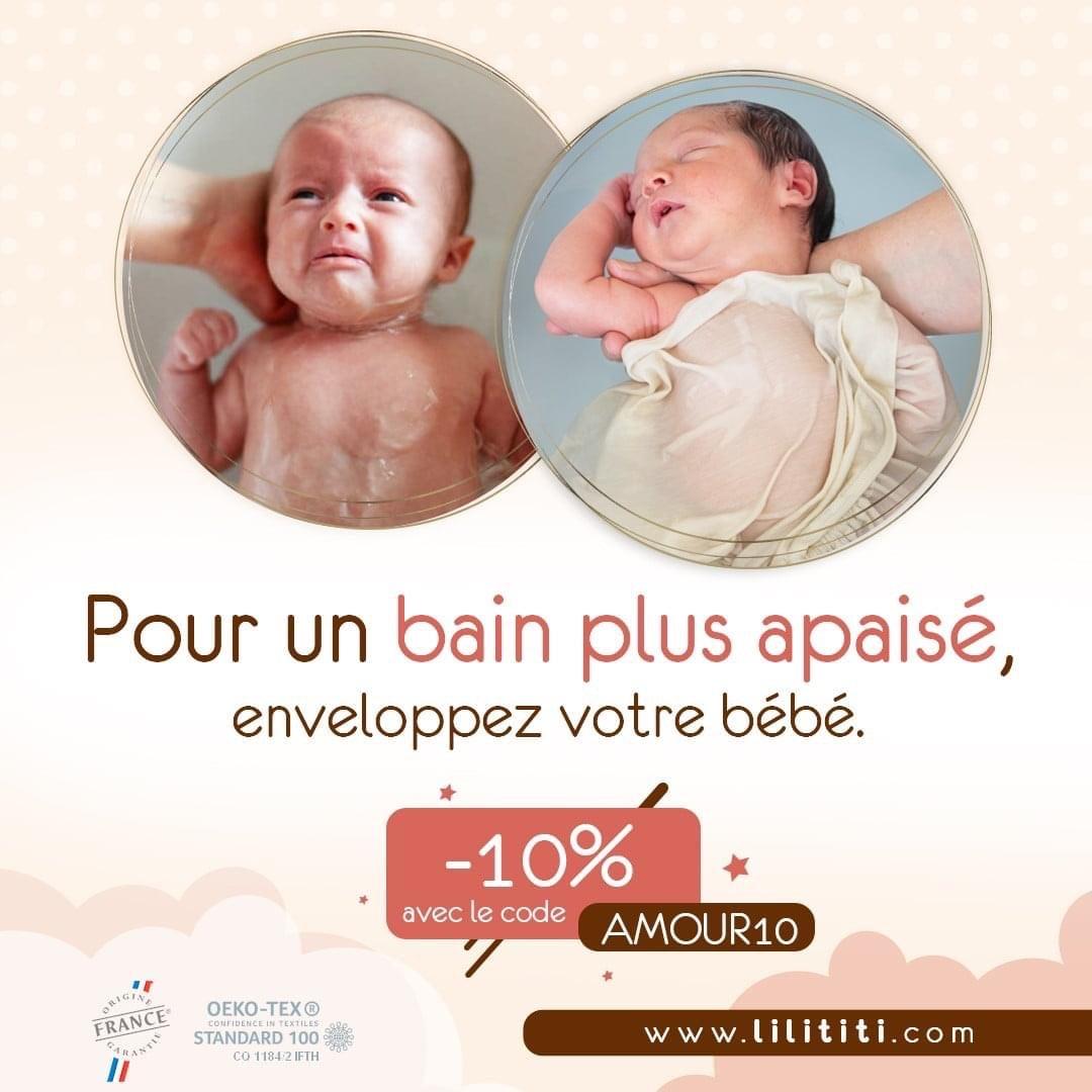 10% de réduction sur le site (lilititi.com)