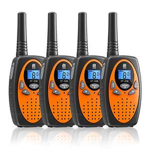 Lot de 4 Talkie Walkie - 3km, 16 canaux (Vendeur Tiers)