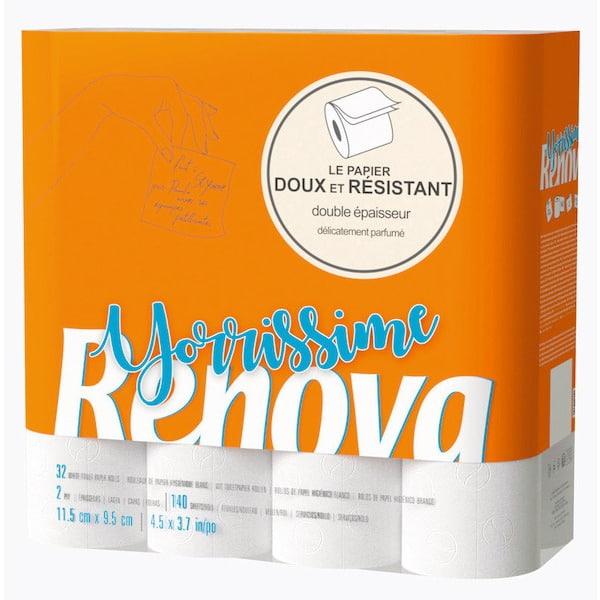 Sélection de produits en promotion - Ex: Paquet de 32 rouleaux de Papier Toilette Renova (via 7.99 € sur la Carte de Fidélité)