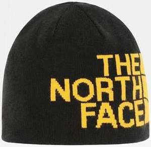 Bonnet Réversible The North Face - Banner Black/Summit Gold, Taille Unique