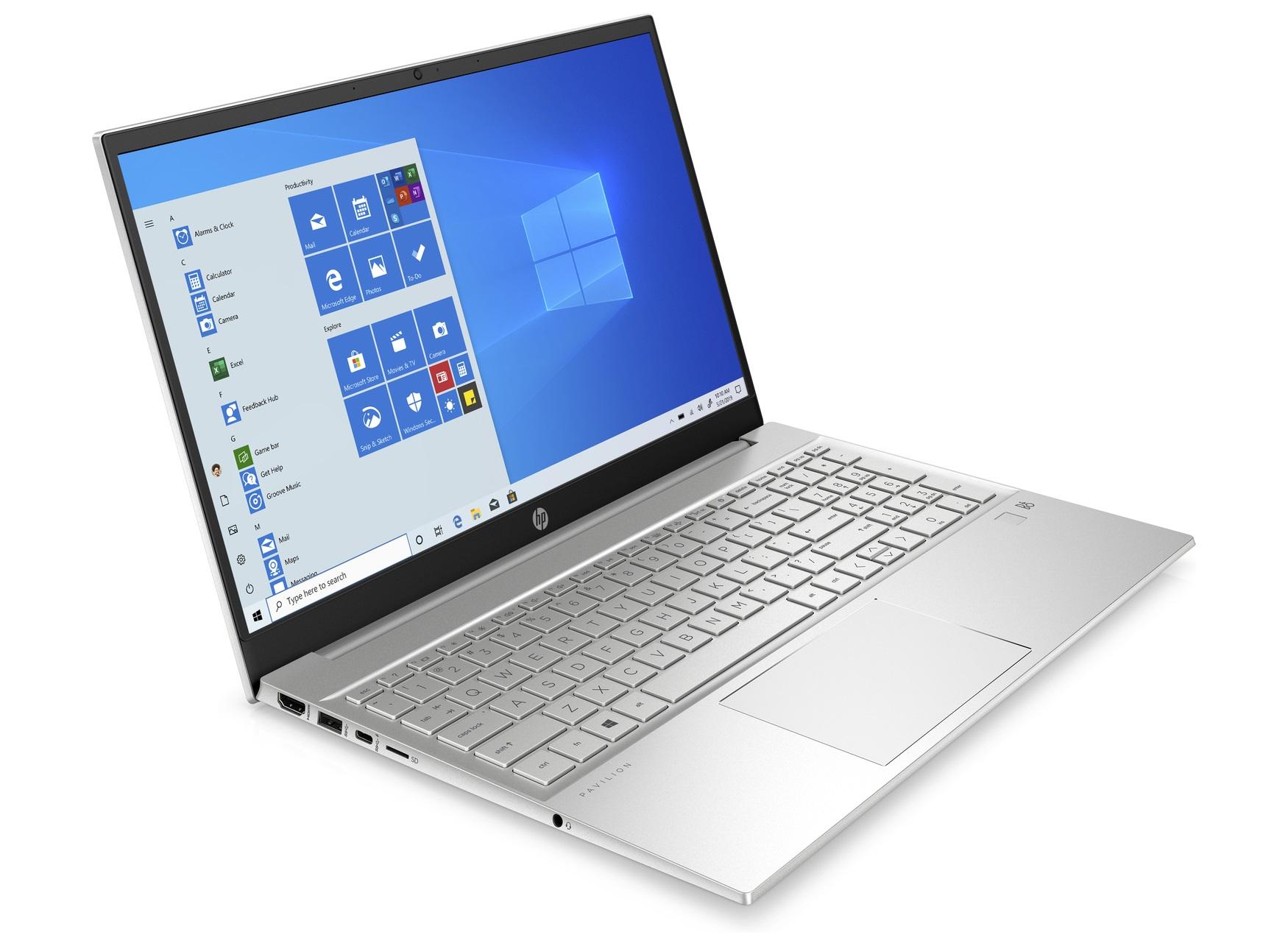 "PC Portable 15.6"" HP Pavilion 15-eg0001nf - Full HD, i5-1135G7, 8 Go RAM, 512 Go SSD, MX350, Windows 10"