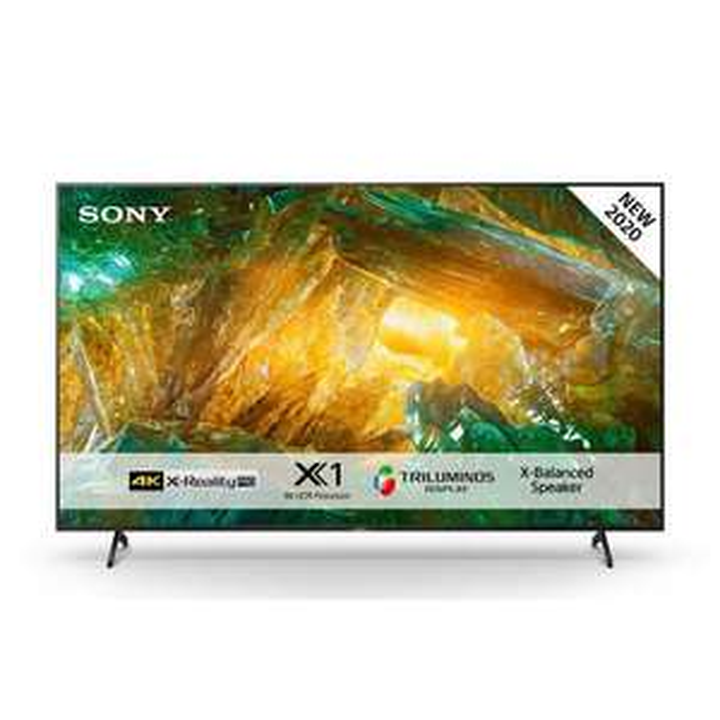 "TV 75"" Sony KD75XH8096 - 4K UHD, Smart TV (Frontaliers Suisse)"
