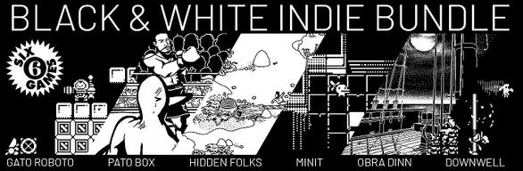 Pack de jeux The Black & White Indie Games Bundle sur PC (Dématérialisé, Steam)