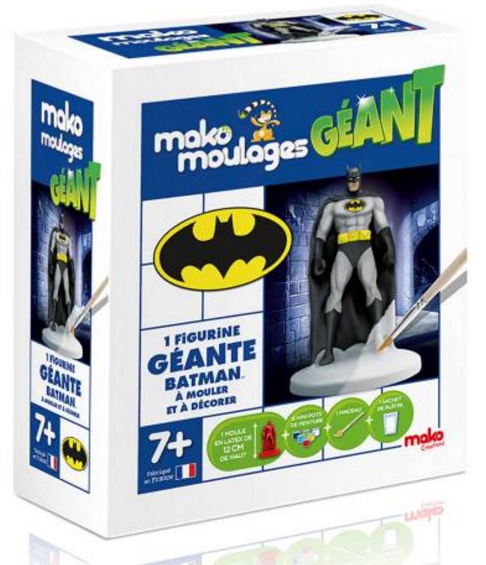 Moulage Mako Superman ou Batman gratuit (via ODR)