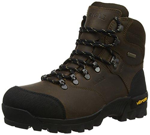 Chaussures de Chasse Aigle Gore-tex & Cuir pour Hommes - Tailles 45