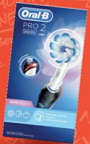 Brosse à dent électrique Oral-b 2000s (Via 27,93€ sur Carte Fidélité)