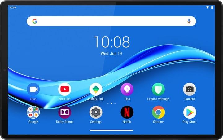 Tablette tactile 10.3'' Lenovo Tab M10 Plus - Full HD, 4 Go RAM, 64 Go, Wifi, Gris (Frontaliers Suisse)