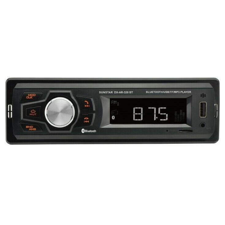 Autoradio First Sunstar DX-AR-320BT - 4 x 20W, Bluetooth / USB / SD / AUX / MP3 / FM