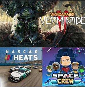 [Gold] Nascar Heat 5, Warhammer: Vermintide 2 & Space Crew jouables gratuitement sur Xbox One, Xbox Series X/S (Dématérialisés)