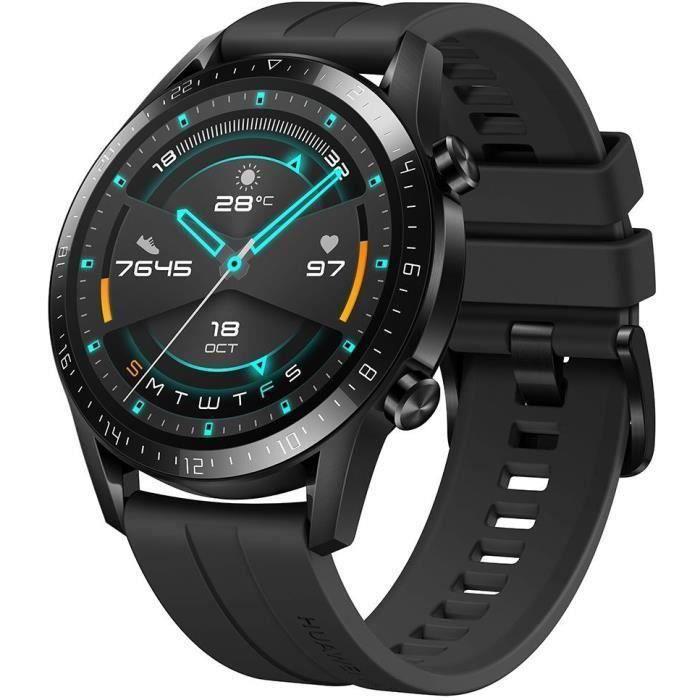 Montre connectée Huawei Watch GT 2 Sport - 46 mm, Noir (Vendeur tiers)