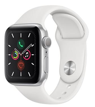 Sélection de montres connectées Apple Watch en promotion - Ex : Apple Series 5 (GPS) - 40 mm, Blanc