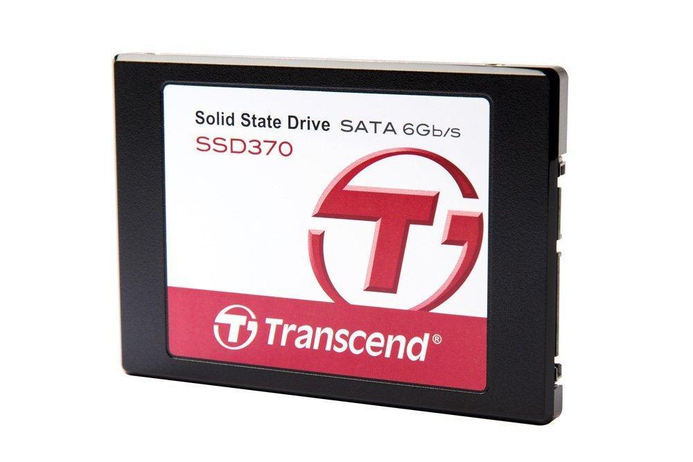 """SSD interne 2.5"""" Transcend 370 (Mémoire MLC 20 nm micron) - 1 To avec adaptateur"""