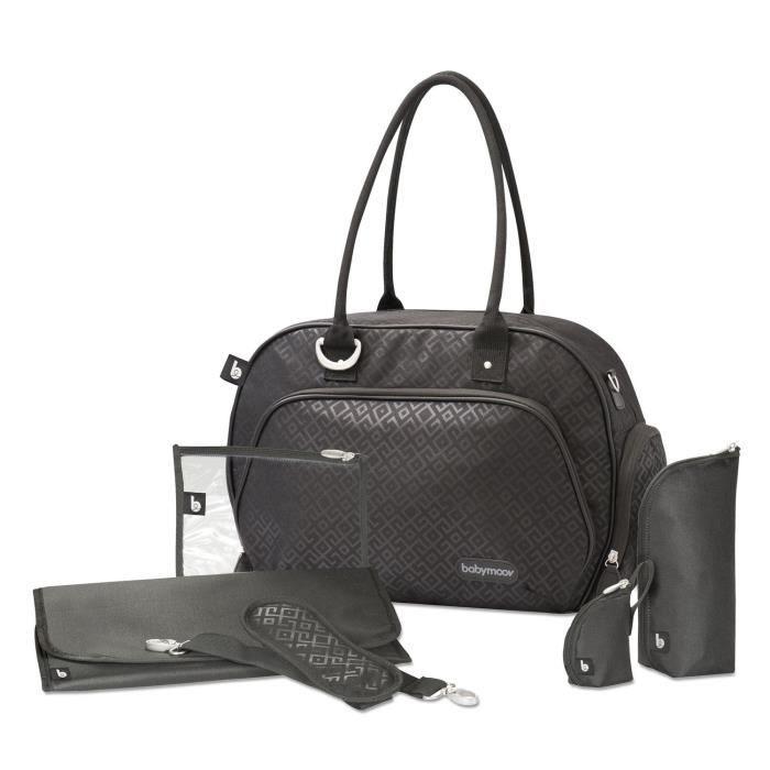 Sac à langer Babymoov Trendy Bag Black