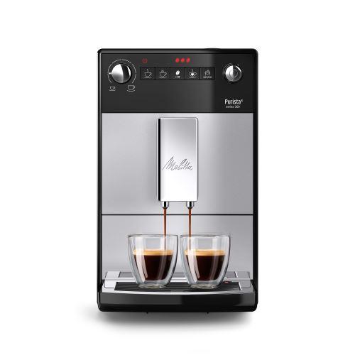 Machine à café Expresso Broyeur Melitta Purista F230-101 1450 W Argent