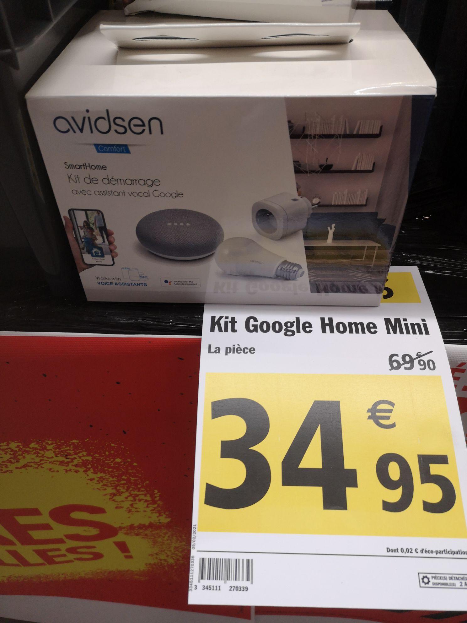 Kit de démarrage Advisen avec Google Home Mini - Laval (53)