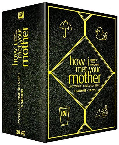 Sélection de coffrets DVD en promotion - Ex : Intégrale de How I Met Your Mother (9 Saisons - Édition Limitée)