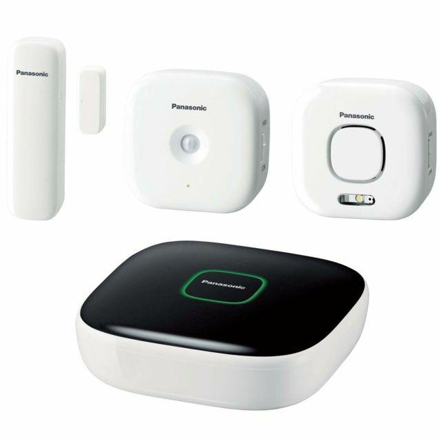 Système sécurité maison Panasonic Pack Sécurité Plus