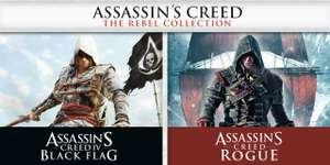 Sélection de jeux Assassin's Creed sur Switch en promotion (Dématérialisés) - Ex: Assassin's Creed The Rebel Collection