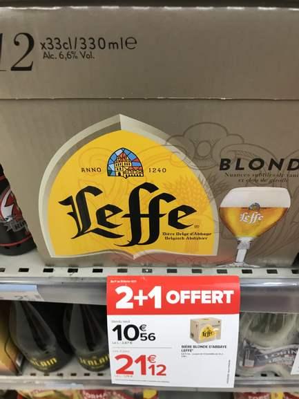 3 packs de 12 bières Leffe (36 x 33 cl) - Massy (91)
