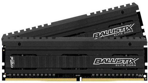 Kit Mémoire DDR4 Crucial Ballistix Elite 8Go (2x4Go) - 2666MHz, CL16
