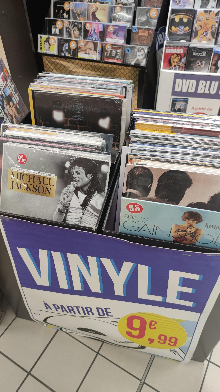 Sélection de vinyles à 9€99 - Chantonnay (85)