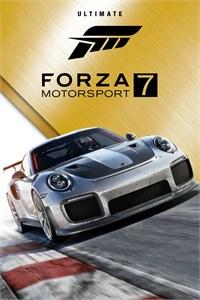 Forza Motorsport 7 Ultimate Edition sur Xbox One, Series et PC (Dématérialisé)