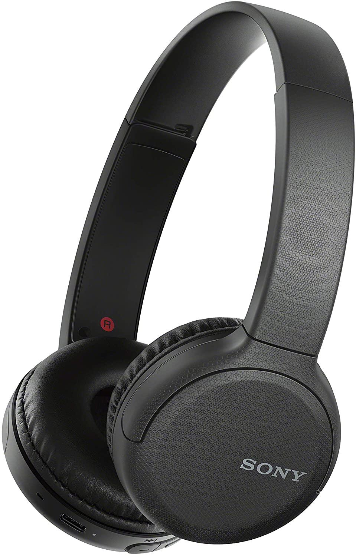 Casque audio sans fil Sony WH-CH510 - Bluetooth, USB-C, Autonomie 35h, Noir