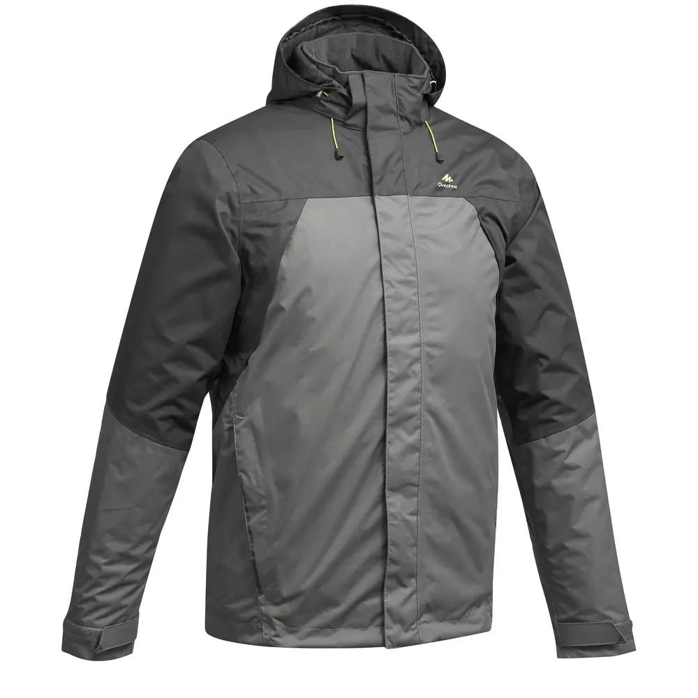 Veste imperméable de randonnée montagne Quechua MH100 pour Homme - Tailles S à XL