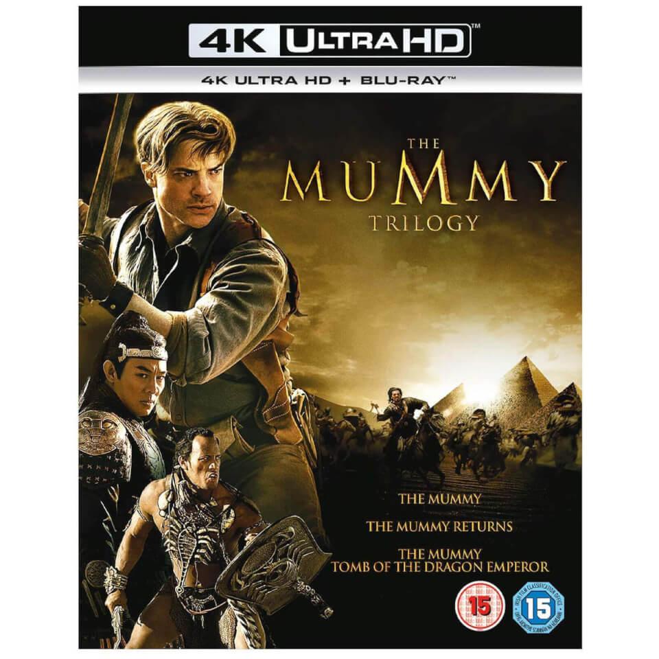 Blu-ray 4K UHD : Trilogie La Momie