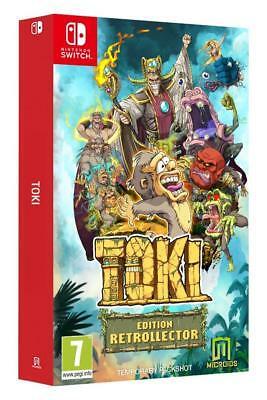 Jeu Toki Édition Collector sur Nintendo Switch (17.49€ avec le code PARTENAIREPME21)