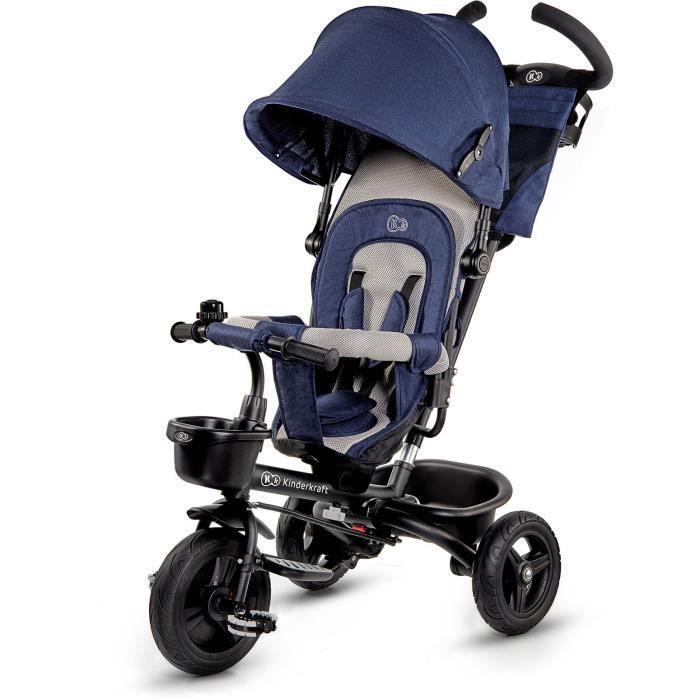 Tricycle évolutif Kinderkraft Aveo - Bleu
