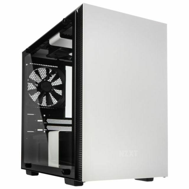 Boîtier PC Mini ITX NZXTH200i avec Fenêtre - Blanc