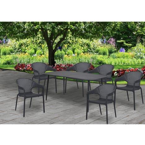 Table de jardin Gardenstar Sintra - 150x90x72cm