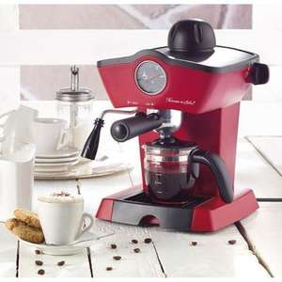 Machine à café avec porte-filtre Rosenstein & Söhne 'ES-800.retro (Vendeur tiers Pearl)