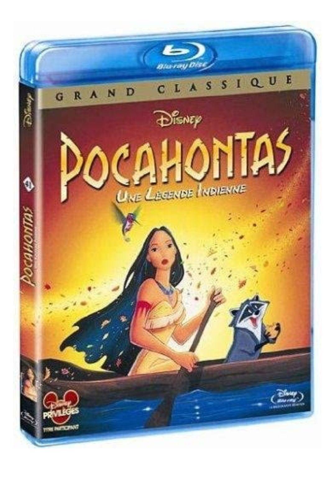 Film Blu-ray Disney Pocahontas