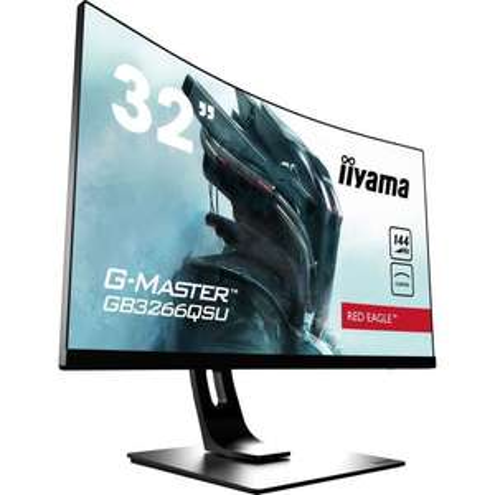 """Ecran PC 31.5"""" Ilyama G-Master GB3266QSU-B1 - WQHD, Dalle VA, 144 Hz, 1 ms, FreeSync"""