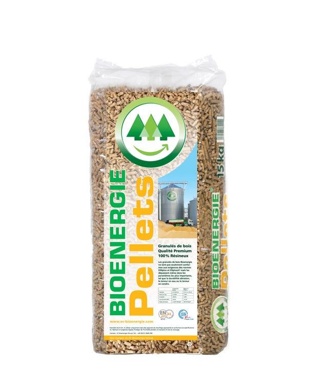 Sac de granulés de bois Bionenergie (15Kg) - Haguenau (67)