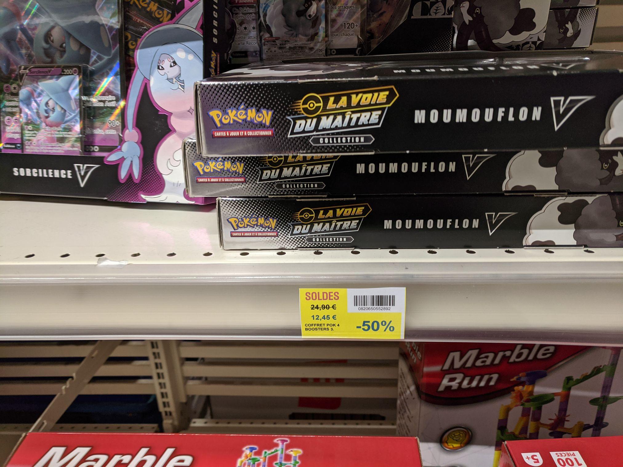 Coffret Pokémon 4 Boosters La Voie du Maître - Saint Herblain (44)